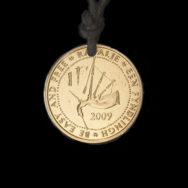 Rapalje fyndlingh coin necklace